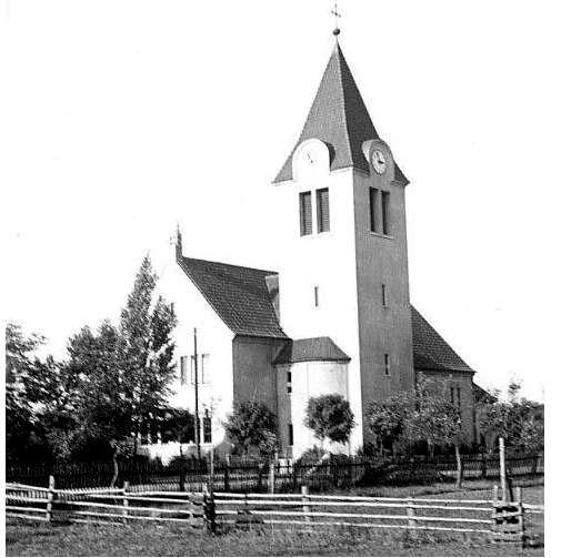Der Neubau der Kirche ist vollendet